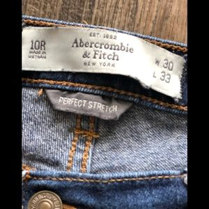 Abercrombie and Finch  ERIN style Jeans A&F